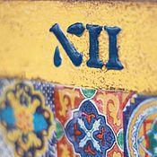 """Для дома и интерьера ручной работы. Ярмарка Мастеров - ручная работа Настенные часы """" Очарование Марокко"""". Handmade."""