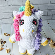 Куклы и игрушки handmade. Livemaster - original item Unicorn rainbow, fabulous unicorn, gift idea for a girl. Handmade.