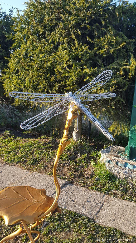 Фигуры садовые: насекомые -  стрекоза, Скульптуры, Санкт-Петербург,  Фото №1