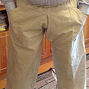 Одежда ручной работы. Ярмарка Мастеров - ручная работа порты льняные мужские. Handmade.