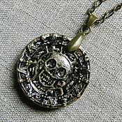 Украшения ручной работы. Ярмарка Мастеров - ручная работа Пиратский медальон. Handmade.