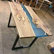 Для дома и интерьера handmade. Livemaster - original item Table river. Handmade.