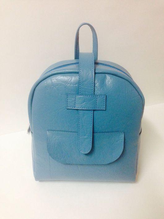 Рюкзаки ручной работы. Ярмарка Мастеров - ручная работа. Купить Кожаный рюкзак из натуральной кожи. Handmade. Кожа, подарок девушке