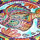 """Декоративная посуда ручной работы. """"Мексиканская рыбка"""" декоративная тарелка. Декоративные тарелки Тани Шест. Ярмарка Мастеров. Тарелка декоративная"""