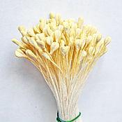 Материалы для творчества handmade. Livemaster - original item Stamens for rose White tea. Handmade.
