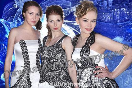 Dresses handmade. Livemaster - handmade. Buy Exclusive.Evening, scenicheskih, bobbin lace, handmade lace, dress, garment, silk, viscose