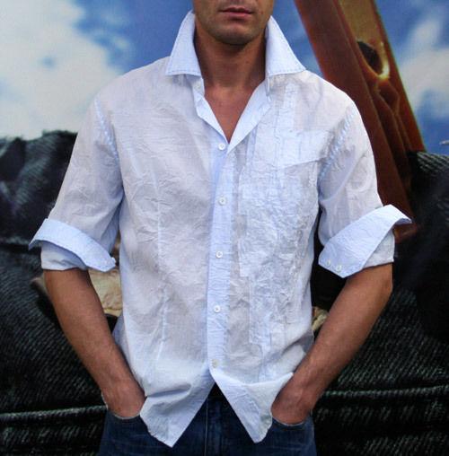 """Для мужчин, ручной работы. Ярмарка Мастеров - ручная работа. Купить мужская рубашка в стиле """"гранж"""". Handmade. Клубная рубашка"""