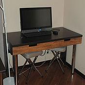 Для дома и интерьера ручной работы. Ярмарка Мастеров - ручная работа Компьютерный столик на заказ. Handmade.