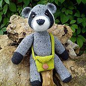 Куклы и игрушки handmade. Livemaster - original item Tweed Marsupials Raccoon. Handmade.