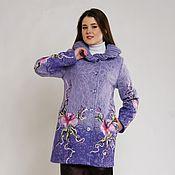 Одежда ручной работы. Ярмарка Мастеров - ручная работа Весеннее пальто Сиреневая весна. Handmade.