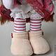 Коллекционные куклы ручной работы. Текстильная кукла Мадлен. Тори Ли. Ярмарка Мастеров. Интерьерная кукла, кукла для девушки
