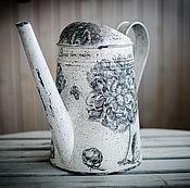 """Лейки ручной работы. Ярмарка Мастеров - ручная работа Лейка """"Пионы"""". Handmade."""