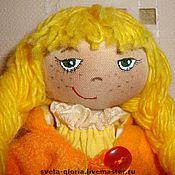 """Куклы и игрушки ручной работы. Ярмарка Мастеров - ручная работа сНежная девочка""""Осень"""". Handmade."""