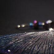 """Украшения ручной работы. Ярмарка Мастеров - ручная работа """"Крылышки Пыльной Феи"""", волшебные серьги. Handmade."""
