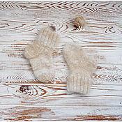 Аксессуары ручной работы. Ярмарка Мастеров - ручная работа Детские носочки из собачьего пуха. Handmade.