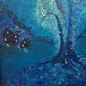"""Картины и панно ручной работы. Ярмарка Мастеров - ручная работа Картина """"Колыбельная августа"""". Handmade."""