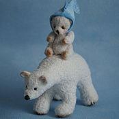 Куклы и игрушки ручной работы. Ярмарка Мастеров - ручная работа Белая медведица и Умка - авторские мишки. Handmade.