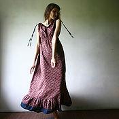 "Одежда ручной работы. Ярмарка Мастеров - ручная работа Сарафан ""Бизар"". Handmade."