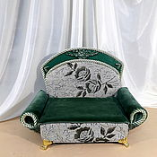 Куклы и игрушки handmade. Livemaster - original item Furniture for dolls: sofa for dolls 30-50cm. Handmade.