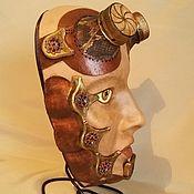 Субкультуры ручной работы. Ярмарка Мастеров - ручная работа маска интерьерная. Handmade.