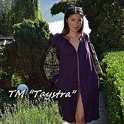 Одежда ручной работы. Ярмарка Мастеров - ручная работа Вышиванка платье бохо, вышиванка лен, этно, стиль бохо шик. Handmade.