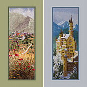 Картины и панно handmade. Livemaster - original item Cross stitch Panels & Panoramas by Jonh Clayton. Handmade.