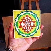 Фен-шуй и эзотерика handmade. Livemaster - original item Yantra: Sri Yantra. Handmade.
