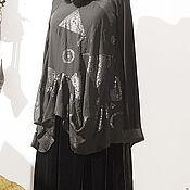 Одежда ручной работы. Ярмарка Мастеров - ручная работа Гламмурное  бохо. пайетки с бархатом и мех. Handmade.