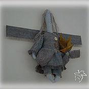 Куклы и игрушки ручной работы. Ярмарка Мастеров - ручная работа Ангел и осенний букет. Handmade.