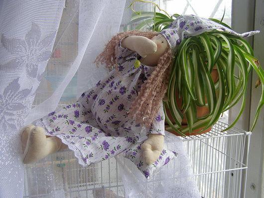 Куклы Тильды ручной работы. Ярмарка Мастеров - ручная работа. Купить ТИЛЬДА. Handmade. Ангел тильда, Тонированная бязь, ситец