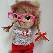 Куклы и игрушки ручной работы. Ярмарка Мастеров - ручная работа КисЁна - любопытная девочка. Handmade.