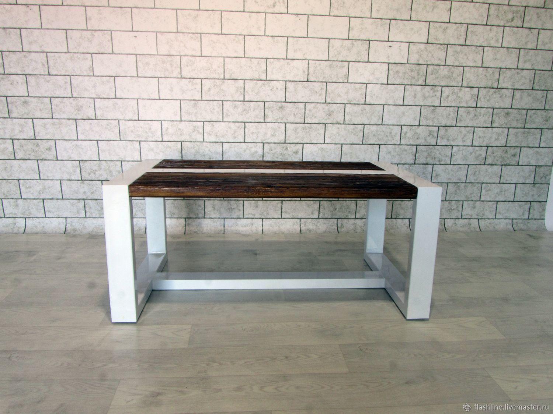 Журнальный столик лофт, Столы, Тверь,  Фото №1