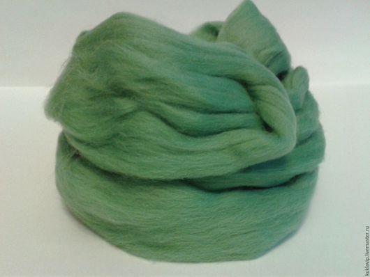 Цена за 50 грамм.Цвет № 0583 - Зеленое яблоко.Мериносовая шерсть для сухого и мокрого валяния.