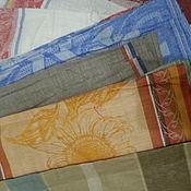 Полотенца ручной работы. Ярмарка Мастеров - ручная работа льняное полотенце не подшитое. Handmade.
