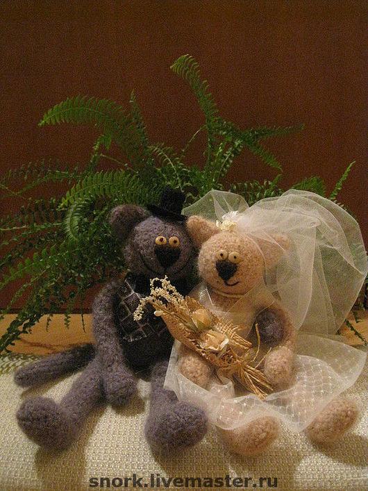 Подарки на свадьбу ручной работы. Ярмарка Мастеров - ручная работа. Купить И коты тоже иногда женятся :). Handmade.