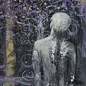 Картины и панно ручной работы. Ярмарка Мастеров - ручная работа И крылья растут под звуки дождя.... Handmade.