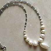 Украшения handmade. Livemaster - original item A necklace of pearls. Handmade.