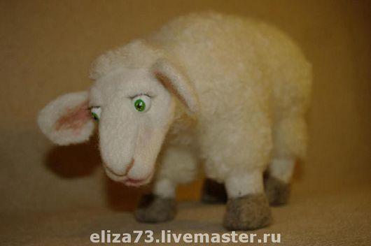Игрушки животные, ручной работы. Ярмарка Мастеров - ручная работа. Купить Овечка. Handmade. Игрушки из войлока