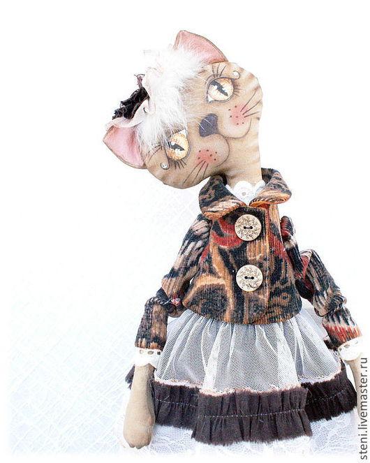 Ароматизированные куклы ручной работы. Ярмарка Мастеров - ручная работа. Купить Кошка Кэти. Handmade. Коричневый, кукла в подарок