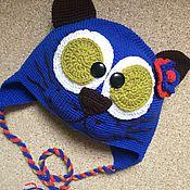 """Работы для детей, ручной работы. Ярмарка Мастеров - ручная работа Шапка вязаная крючком """"Кошечка"""". Handmade."""