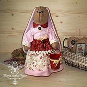 Куклы и игрушки ручной работы. Ярмарка Мастеров - ручная работа Зайчиха Тесси. Handmade.