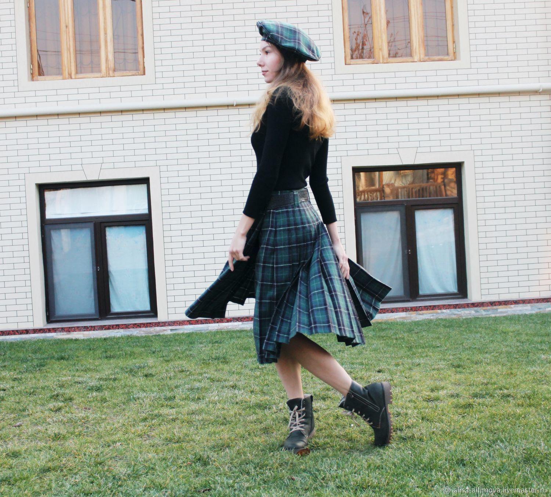Warm skirt 'Zara' in crease, Skirts, Tashkent,  Фото №1