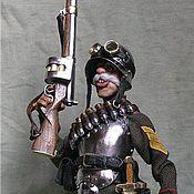 Куклы и игрушки ручной работы. Ярмарка Мастеров - ручная работа Блиндированный гренадёр Редькин. Находится в частной коллекции. Handmade.