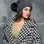 Одежда ручной работы. Ярмарка Мастеров - ручная работа Кашемировое пальто.Из итальянской ткани. Handmade.