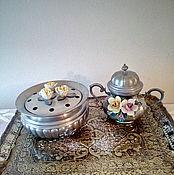 Винтаж ручной работы. Ярмарка Мастеров - ручная работа Два предмета с керамикой  винтаж, Италия. Handmade.