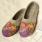 """Обувь ручной работы. Ярмарка Мастеров - ручная работа Тапочки """"Феодора"""". Handmade."""