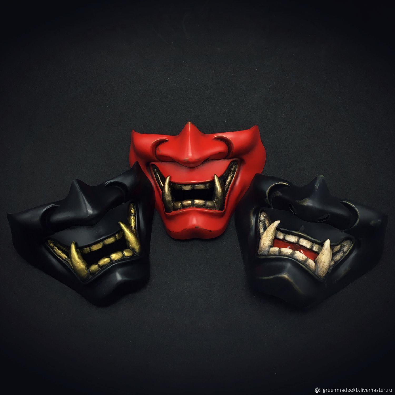Hannya Half Mask, Character masks, Ekaterinburg,  Фото №1