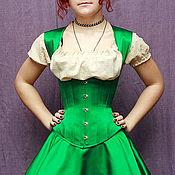 Одежда ручной работы. Ярмарка Мастеров - ручная работа Клевер - Игривый комплект из корсета и пышной юбочки. Handmade.