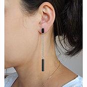 Украшения handmade. Livemaster - original item earrings minimalist. model №1.. Handmade.
