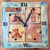 Для дома и интерьера ручной работы. Ярмарка Мастеров - ручная работа Комплект для детской Медвежья семейка. Handmade.